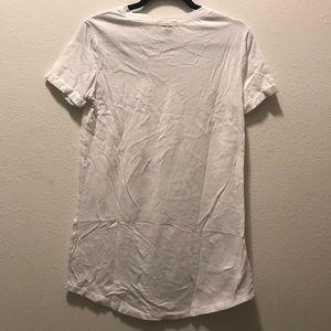 Forever 21 Dresses - Forever 21 White T-Shirt Dress
